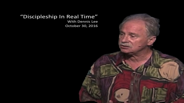 Discipleship In Real Time