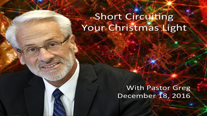 Short Circuiting Your Christmas Light