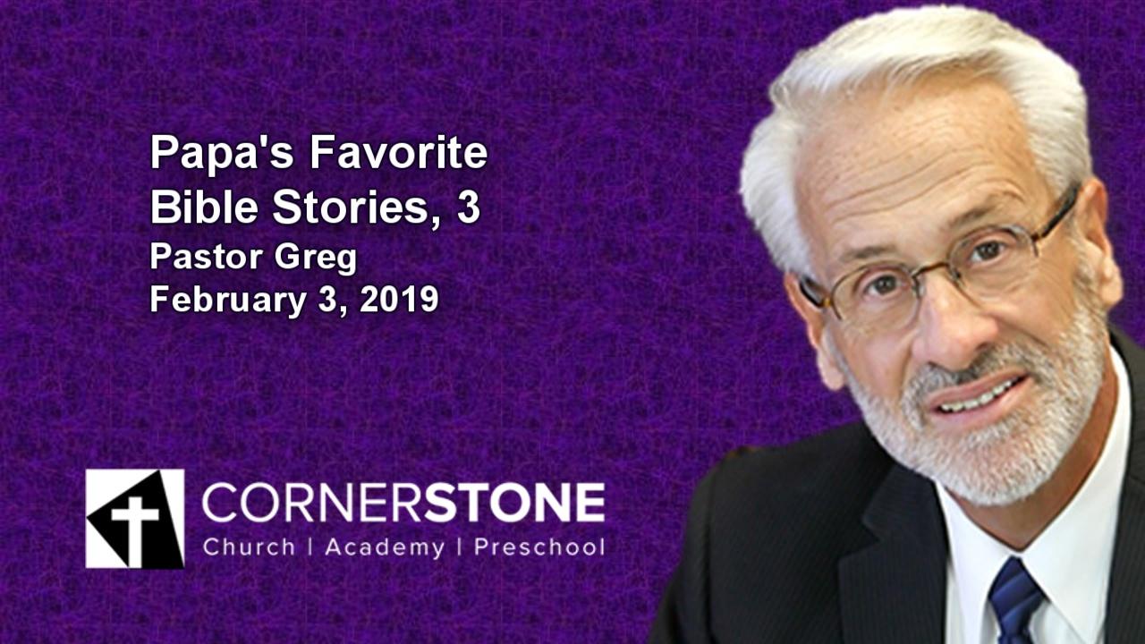 Papa's Favorite Bible Stories, 3