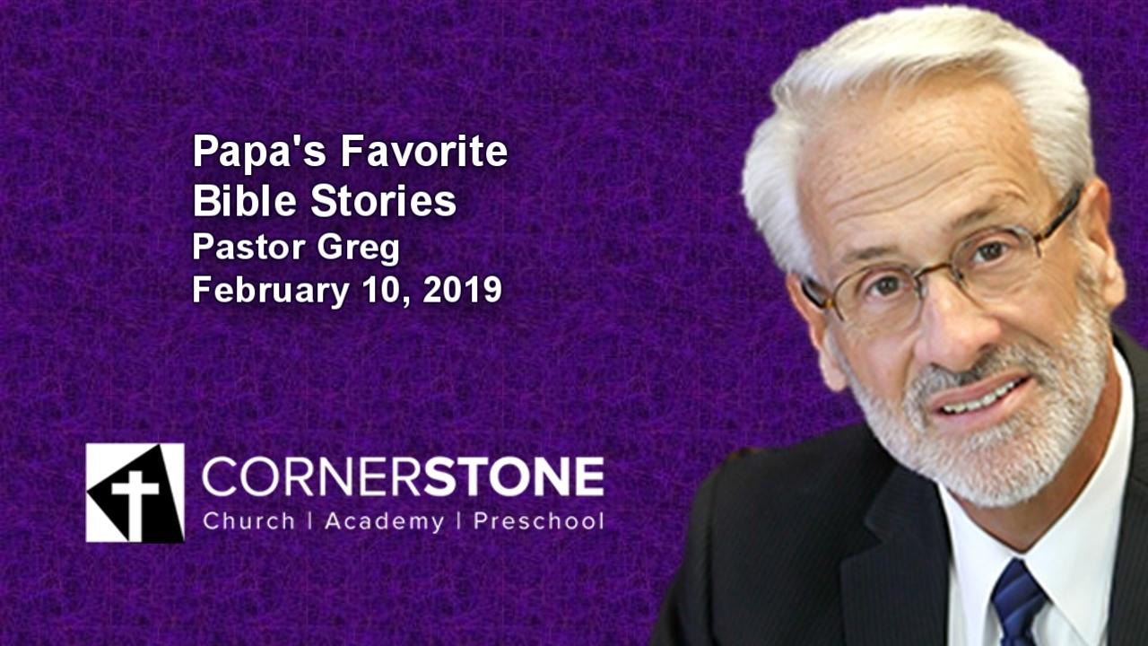 Papa's Favorite Bible Stories, 4