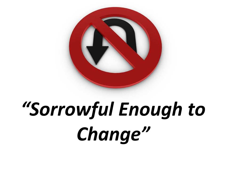 Sorrowful Enough to Change