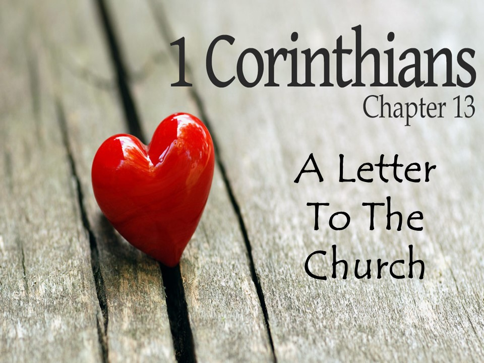 A Letter to the Church