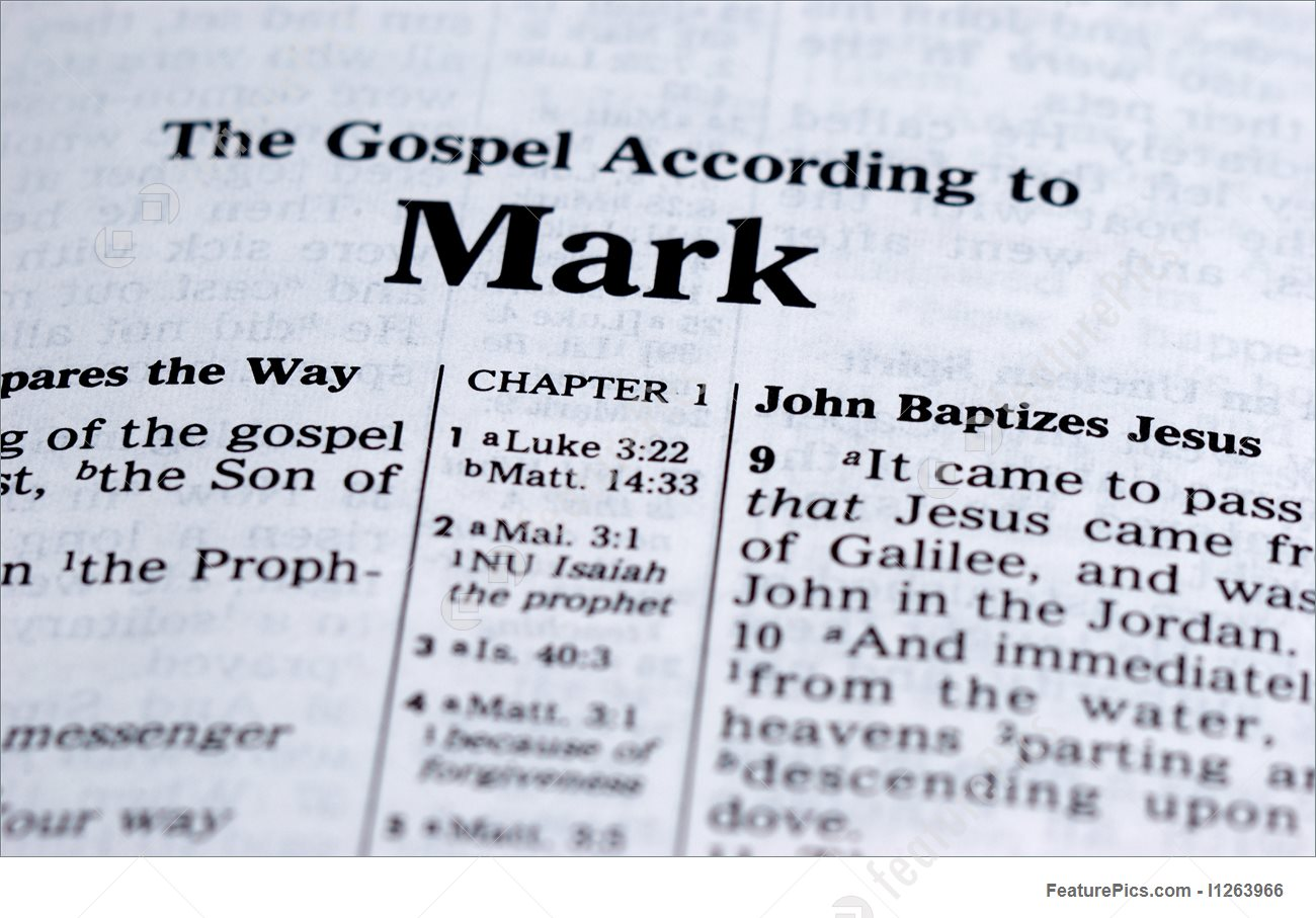 Mark The Action Gospel