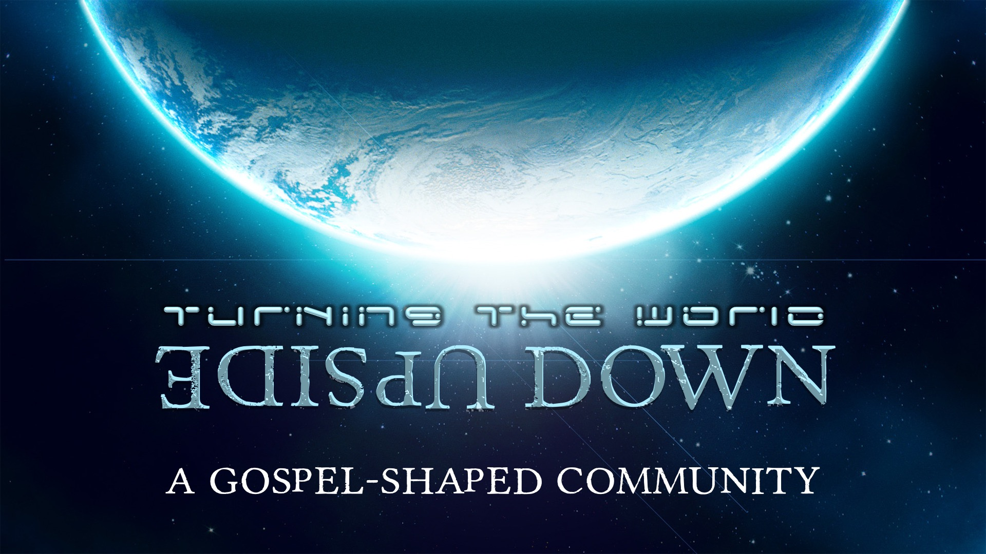 A Gospelshaped Community