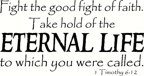 Hold On To Eternal Life