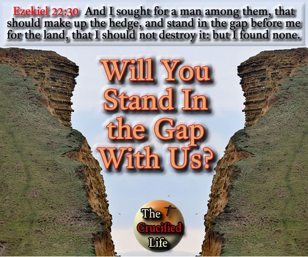 Will You Stand In The Gap