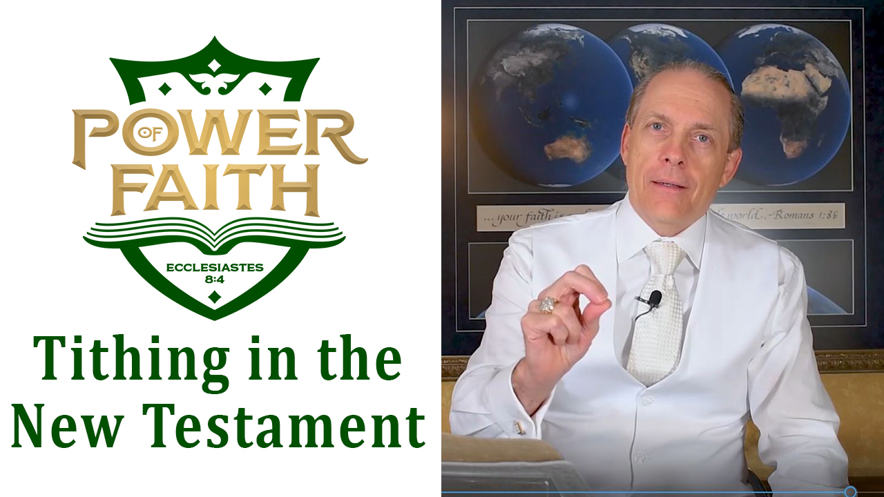 Ep 10  Tithing in the New Testament
