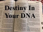 Destiny In Your DNA P12 5/8/2017 11 AM