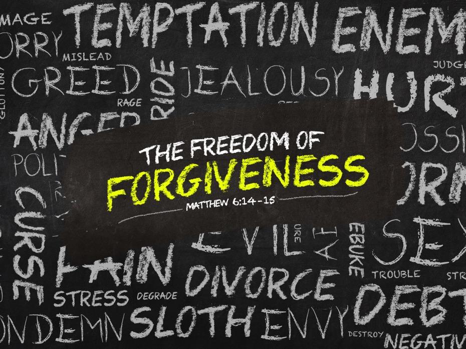 Forgiveness 5/31/2017 11 AM
