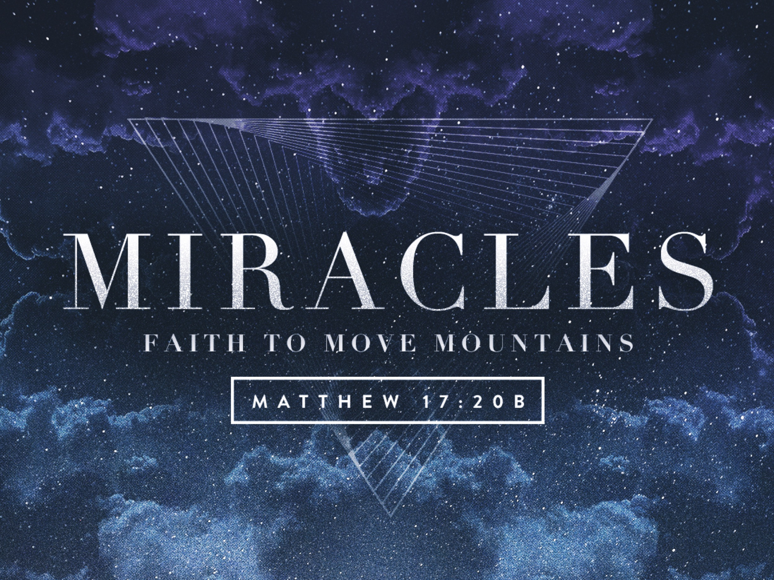Where Be All His Miracles?