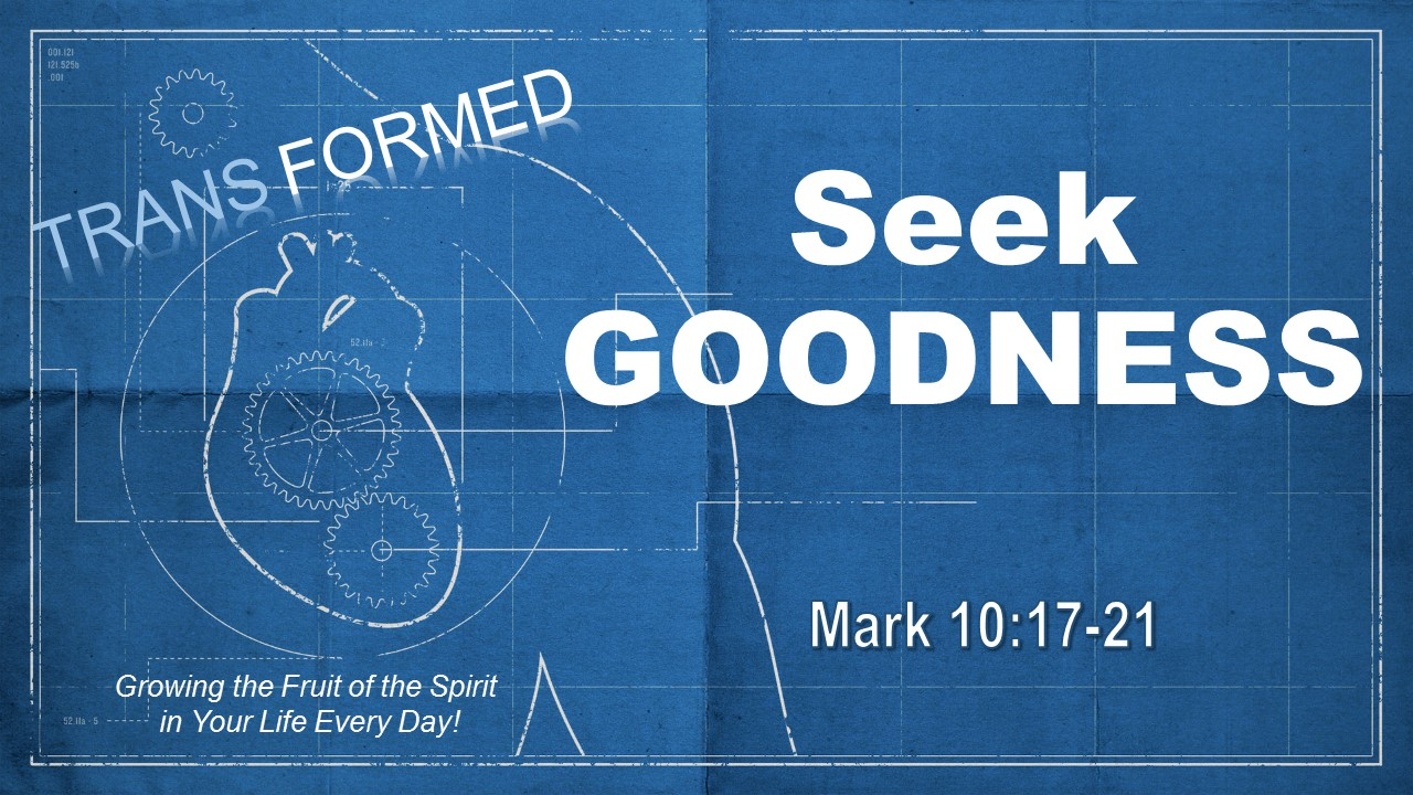 0805 AM  Seek Goodness