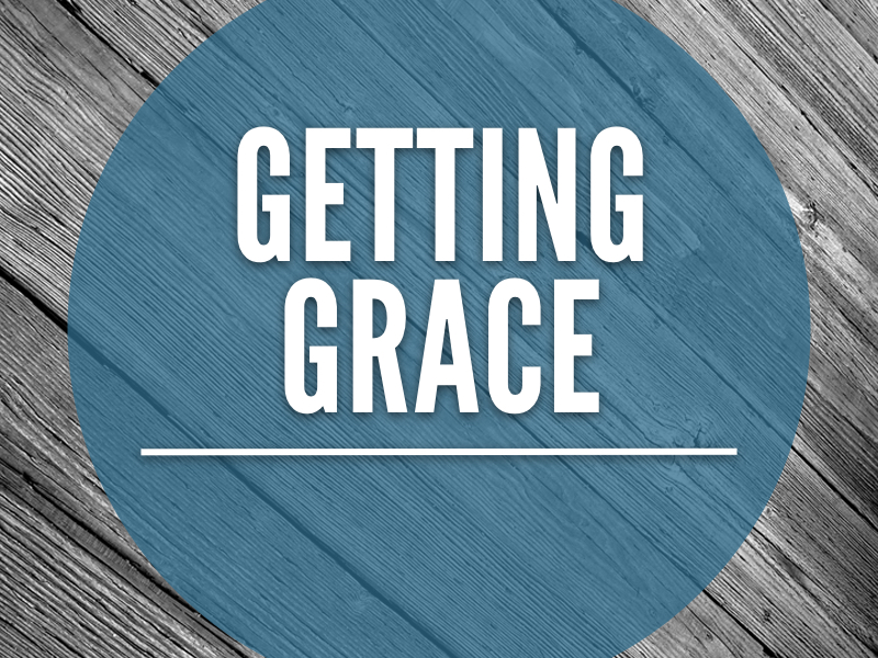 Grace is God Reaching Down