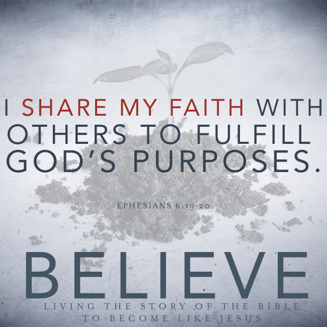 Believe Chapter 20 Sharing My Faith