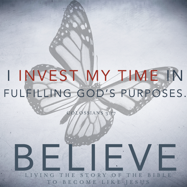 "BELIEVE Chapter 18: ""Offering Our Time"""
