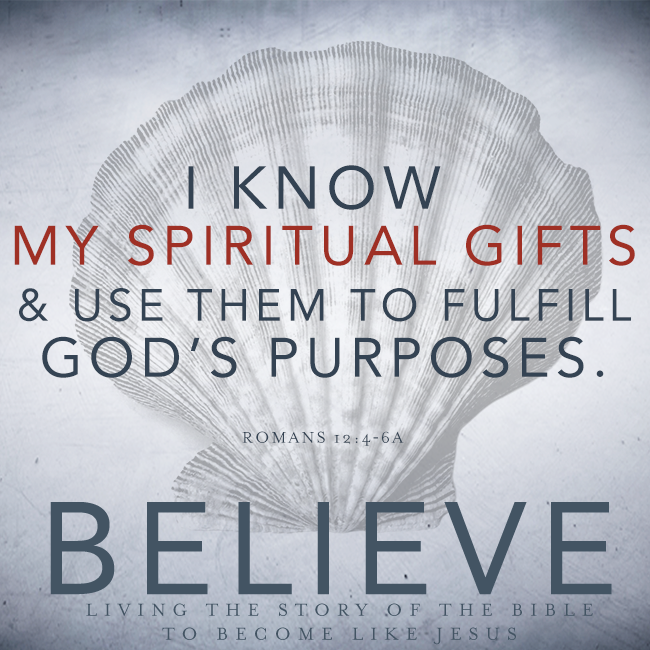 "Believe, Chapter 17, ""Spiritual Gifts"""