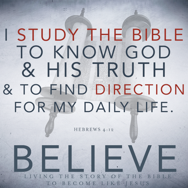 "Believe Chapter 13, ""Bible Study"""