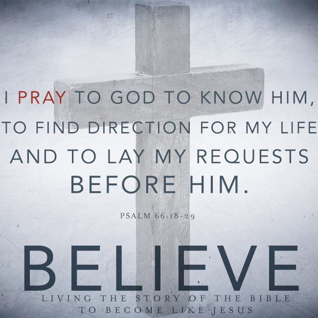Believe Chapter 12 Prayer