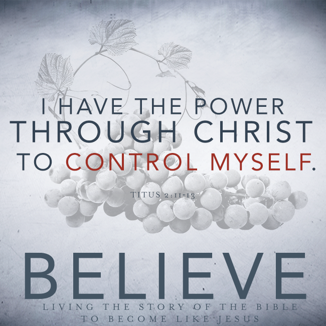 Believe Chapter 24 Self Control