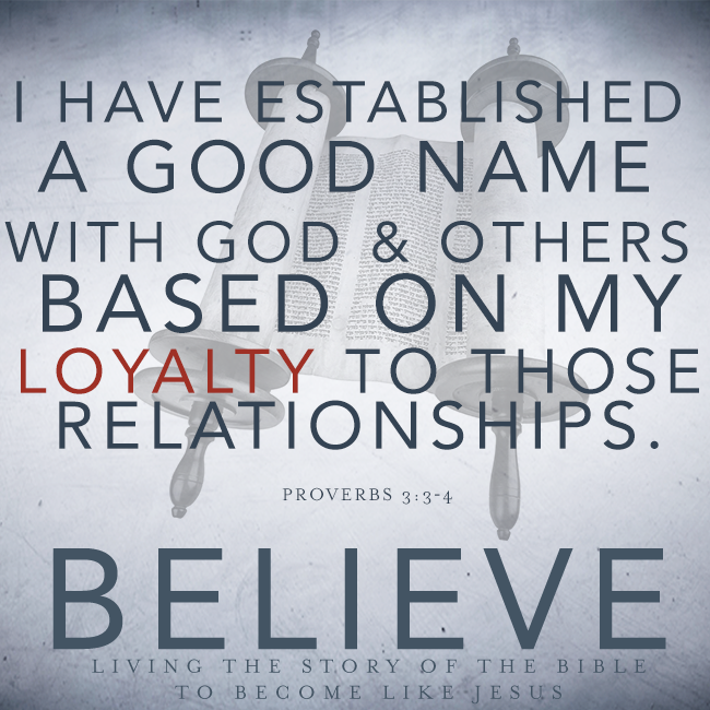 Believe Chapter 28 Faithfulness