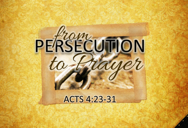 From Persecution to Prayer
