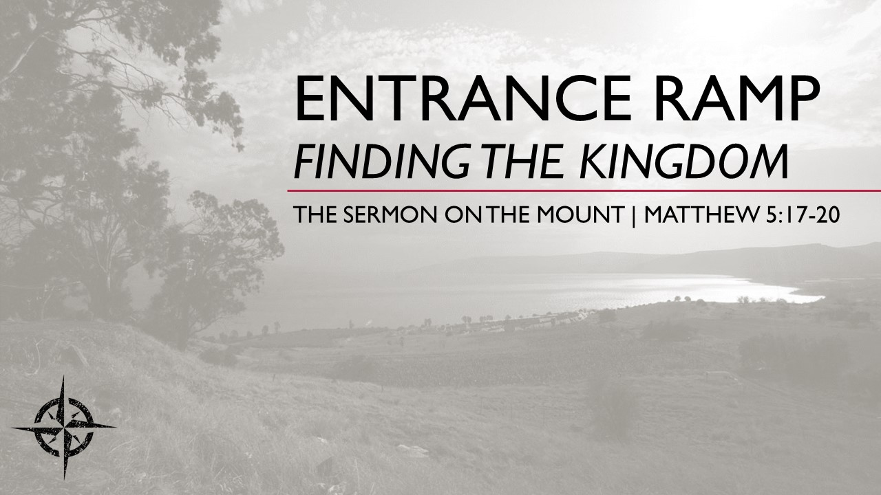 Entrance Ramp-Finding the Kingdom