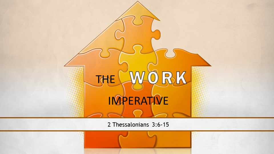 The Work Imperative