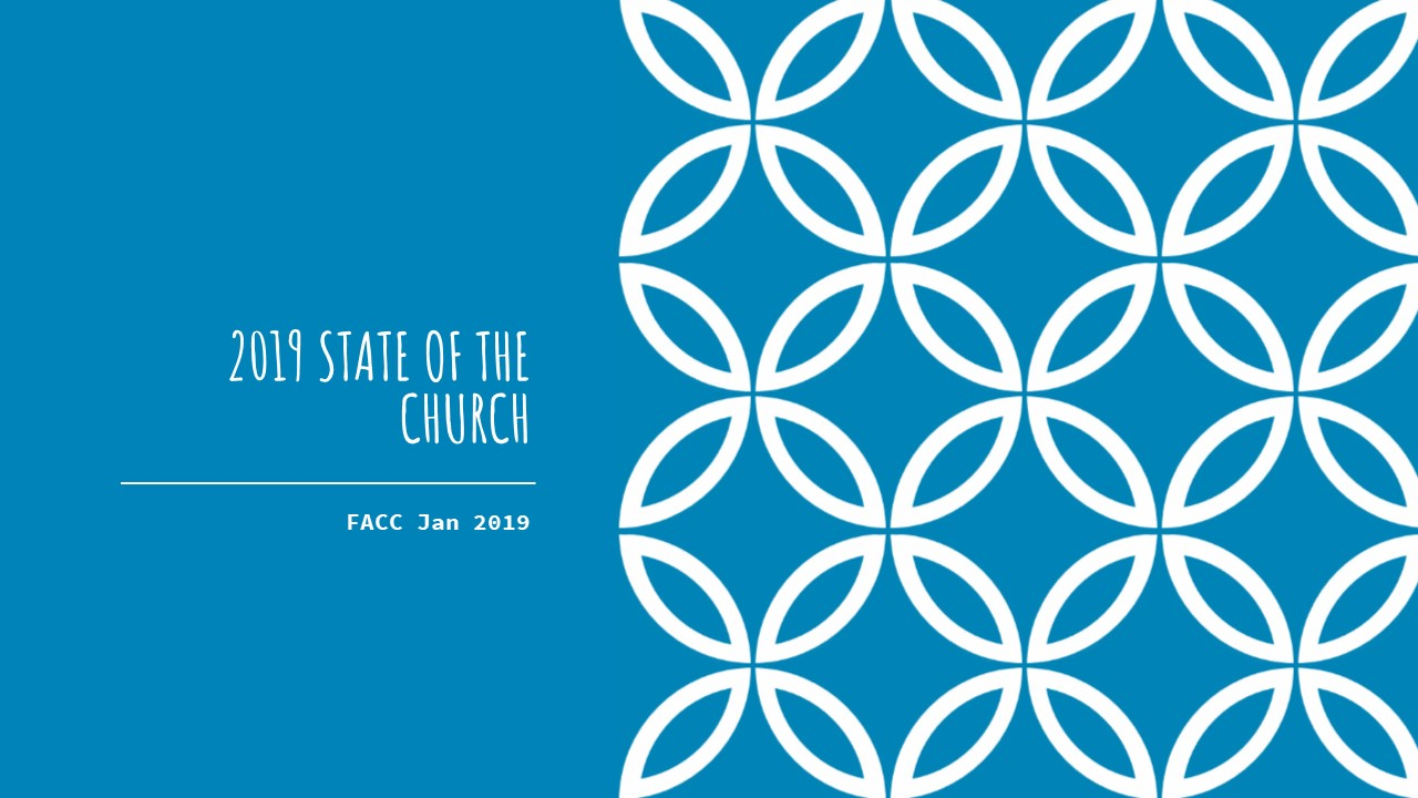 2019 State of the Church