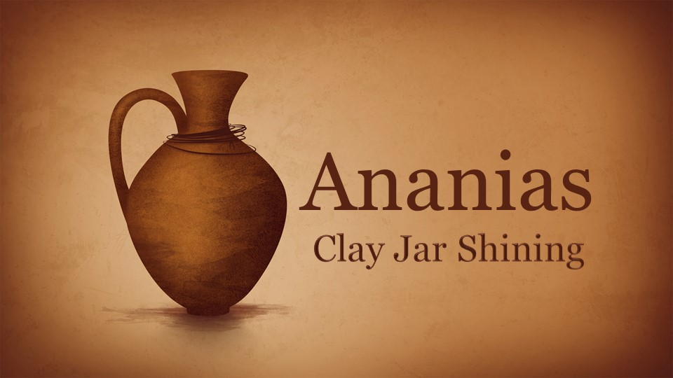 AnaniasClay Jar Shining