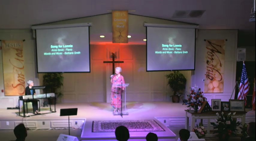 Lonnie Smith Memorial Service
