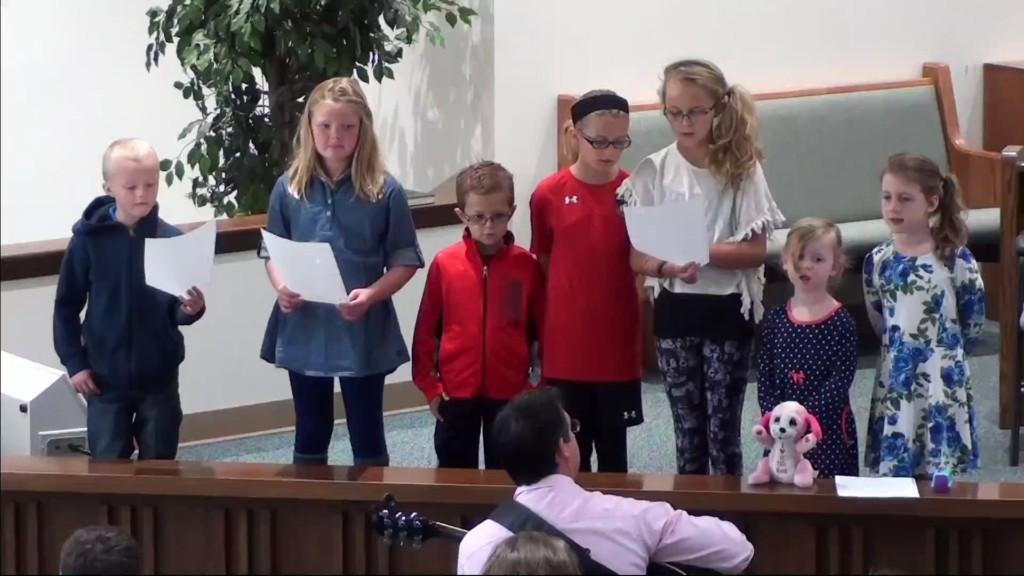 Childrens Choir 10/30/2016 7:01:57 AM