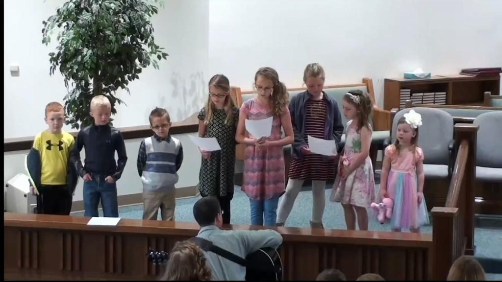 Childrens Choir 5/7/2017 7:04:55 AM
