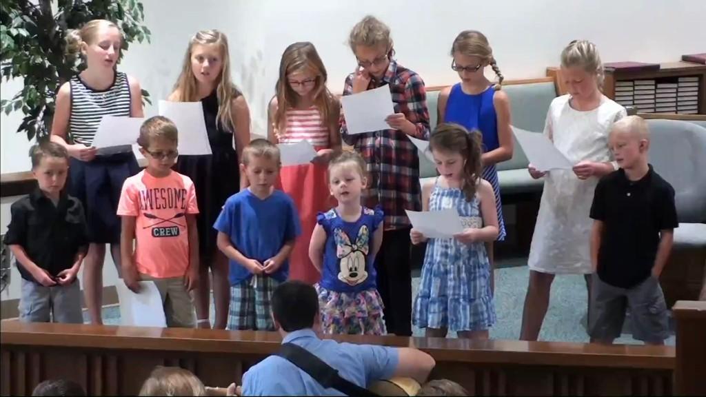 Children's Choir 7/30/2017 7:06:19 AM