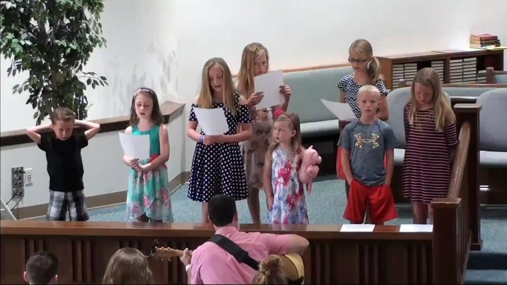 Children's Choir 8/27/2017 7:05:16 AM