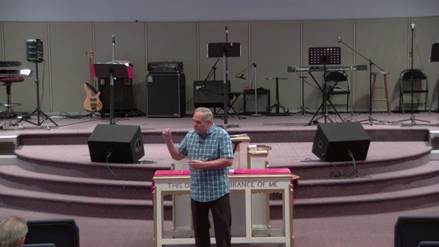 Sunday Service 9-3-17