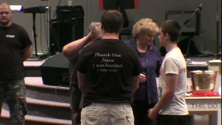 Miracle & Healing Service 8-21-15