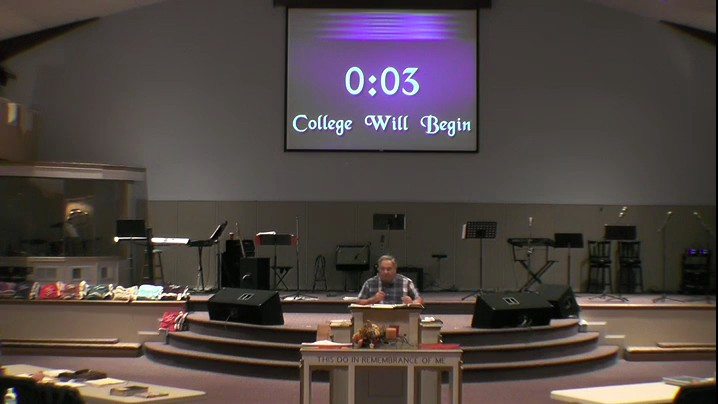 Bible College Wk 30 Yr 2