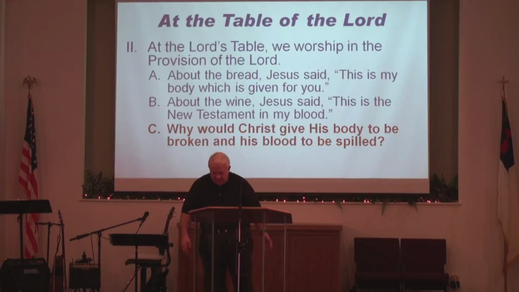 At the Lords Table We Worship