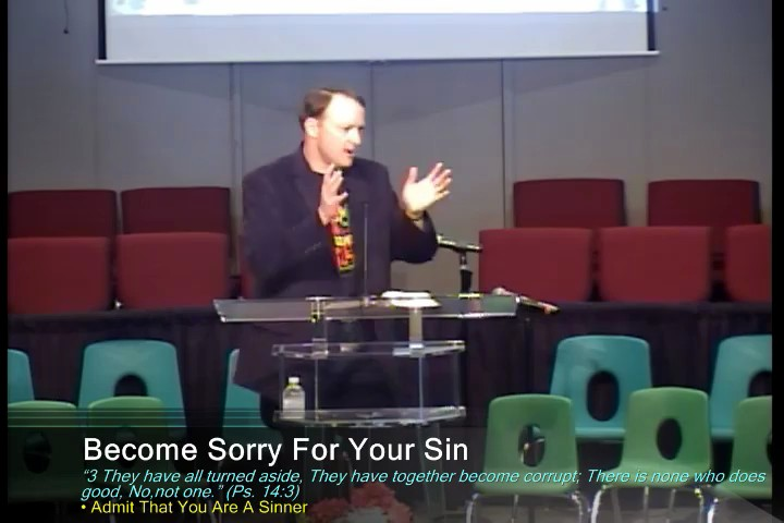 May 18 - I Am Sorry For My Sin
