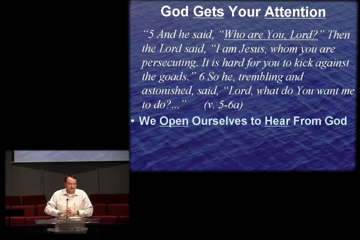 October 12 - PM - God Is Looking For You