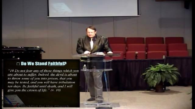 Are We a Faithful Church?
