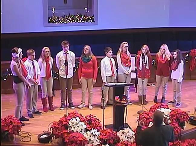 Christmas Youth Choir 12/20/2015