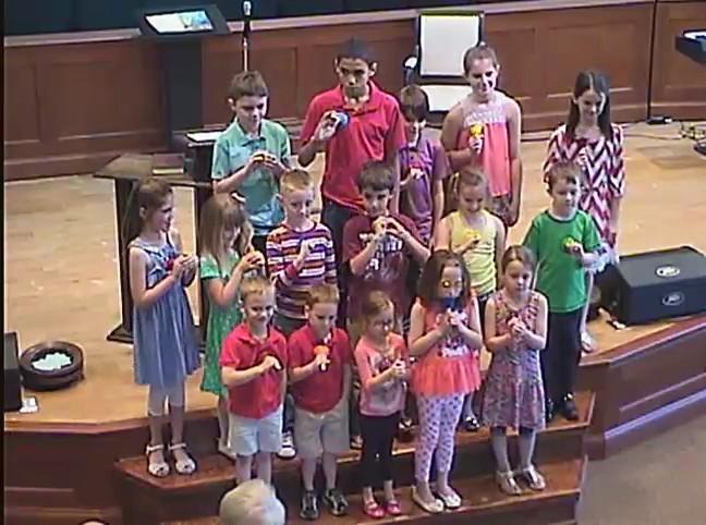 Childrens Choir 4/24/2016