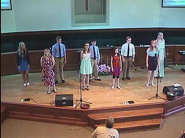 OBC Youth Choir 5/15/2016