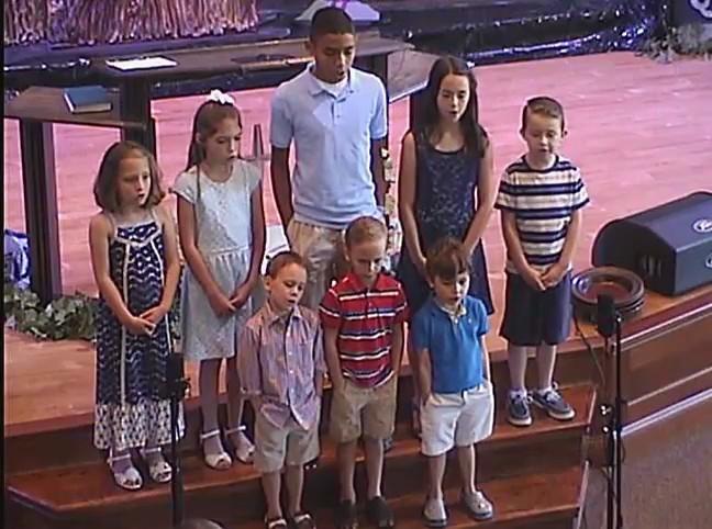 Childrens Choir 6/19/2016