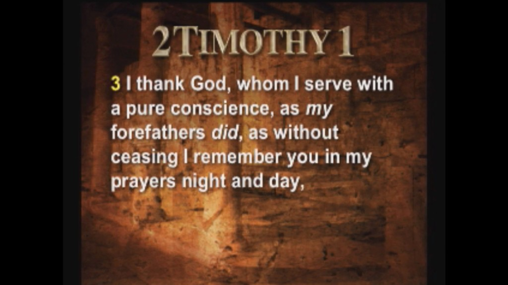2 Timothy 1
