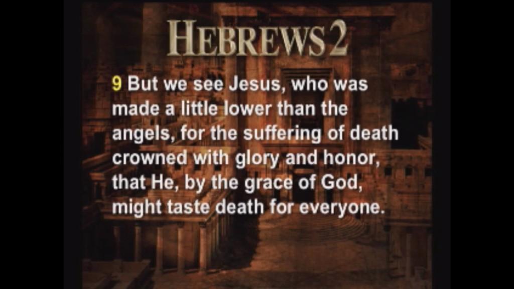Hebrews 2:9-18