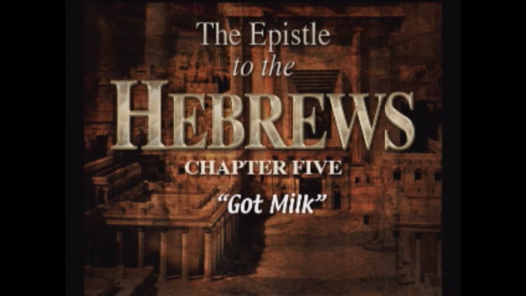 Hebrews 5:1-14