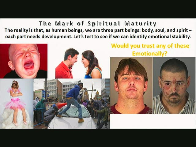 The Mark of Spiritual Maturity part 1