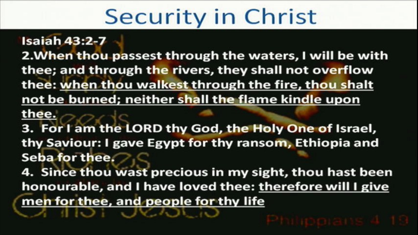 Security in Christ