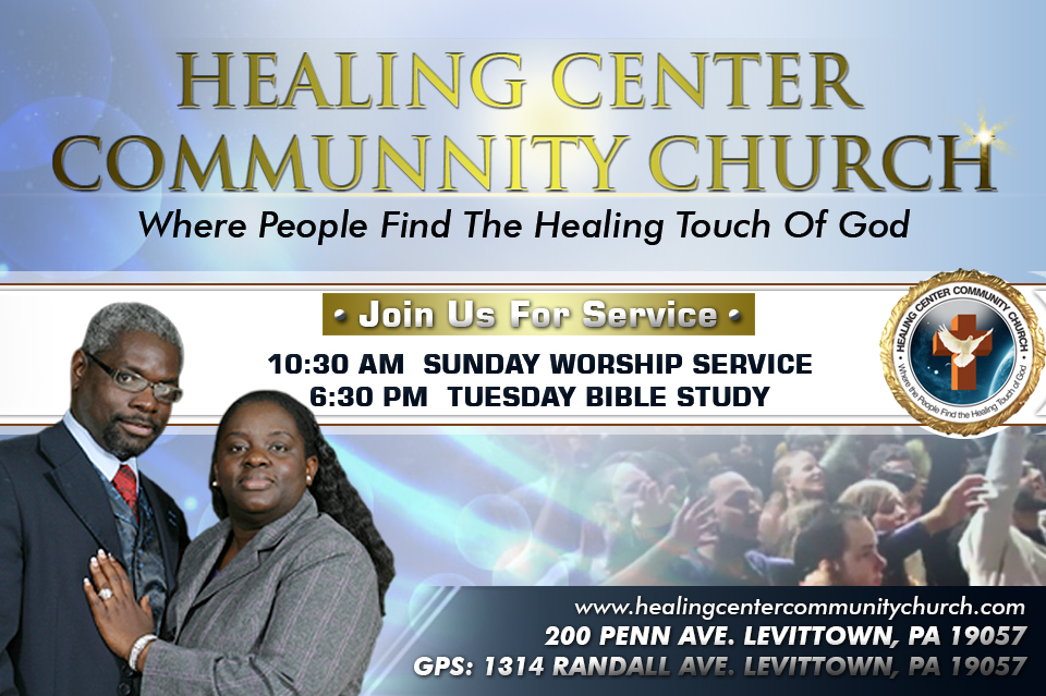 Healing Center Community Church - Live streaming channel